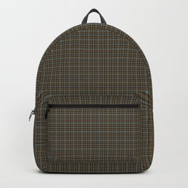 Gordon and Meldrum Clan Weathered Scottish Tartan Old Colors Ancient Dyes Backpack