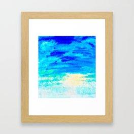 Blue Skies in Florida #4 Framed Art Print