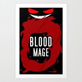 Blood Mage Splash Art Print