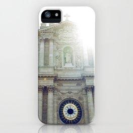 Eglise Saint Paul, Le Marais, Paris II iPhone Case