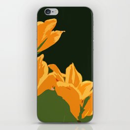 Orange Tulips iPhone Skin