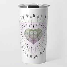 Young & Unafraid - Pink Travel Mug