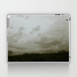 Dawn in the countryside Laptop & iPad Skin