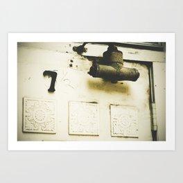 5 1/2, no, 7 Art Print