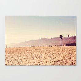 Vintage Santa Monica Canvas Print