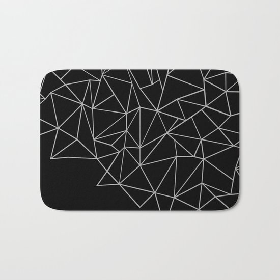 Ab Storm Black Bath Mat