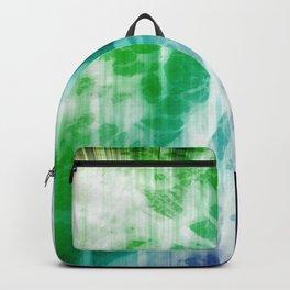 Retro, Boho Chic Tye-Dye Pattern Backpack