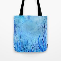 In the Waves Tote Bag