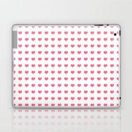 Watercolor Hearts Pattern 1 Laptop & iPad Skin