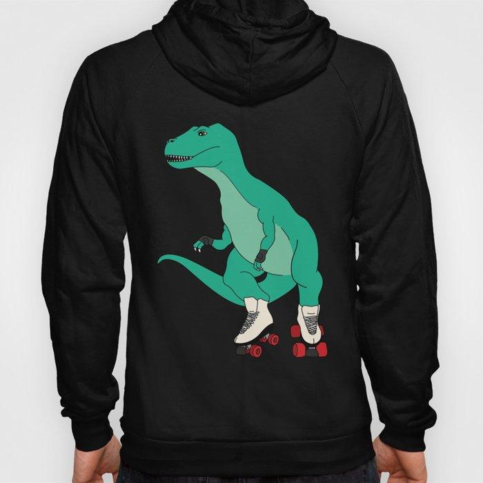 Tyrollersaurus Rex Hoody