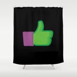I Like Donatello Shower Curtain
