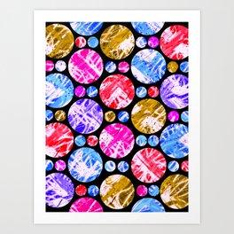 C13D baubles n beads Art Print