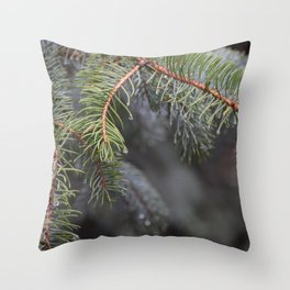 Dewey Pine Throw Pillow