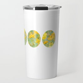 Small yellow flower Travel Mug