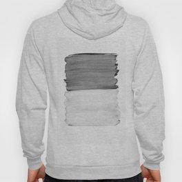 Gray Black White Abstract Minimalism #1 #minimal #ink #decor #art #society6 Hoody