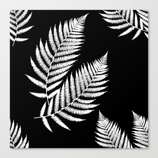 Fern Pattern Canvas Print
