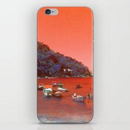 """""""Yelapa, Mexico Vintage Travel Photography"""" iPhone Skin"""