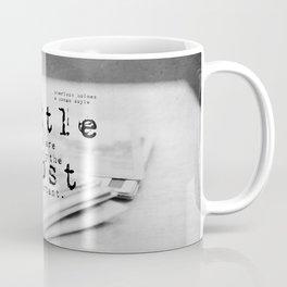 Little things Sherlock Holmes Coffee Mug