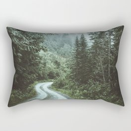 Moody Drives Rectangular Pillow