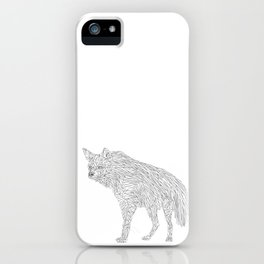 Geometric Hyena iPhone Case