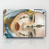indigo iPad Cases featuring Indigo by Nataliette