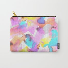 Funfetti #2, Circus Candy Pastel Carry-All Pouch