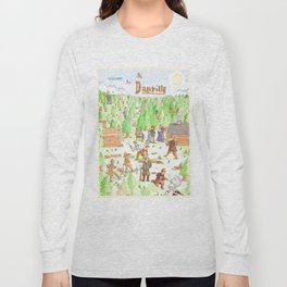 Locals Only- Danville Long Sleeve T-shirt
