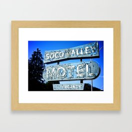 Soco Valley Framed Art Print