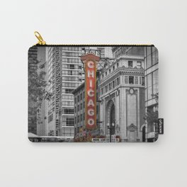 CHICAGO State Street Carry-All Pouch