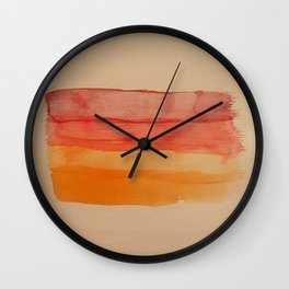 Streaks Wall Clock