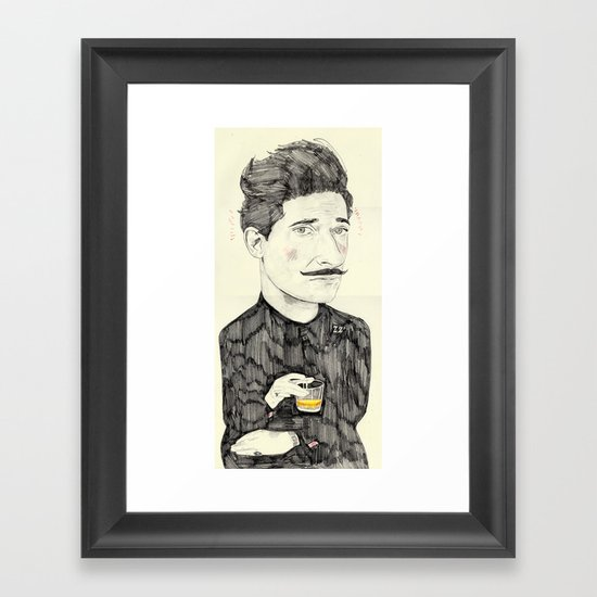 Dmitri Framed Art Print