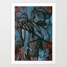 Blue Eye Blind Art Print