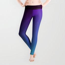 Aurora Synthwave #7 Leggings