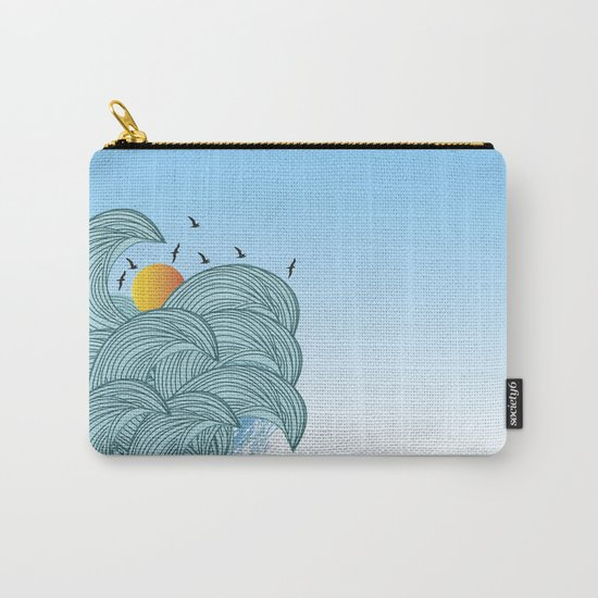 sea wave 4 Carry-All Pouch