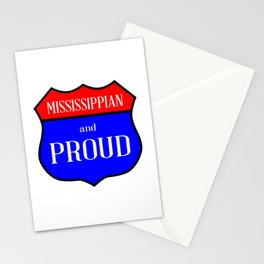Mississippian And Proud Stationery Cards