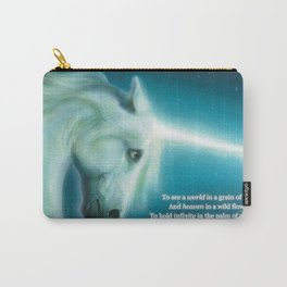 Eternity Unicorn - Divine Being of Purity, Innocence & Magical Power Carry-All Pouch
