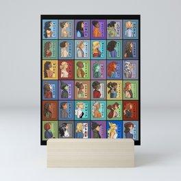 She Series Collage 1-4 Mini Art Print