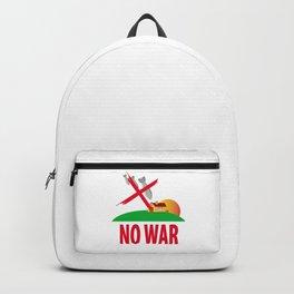 No war Backpack