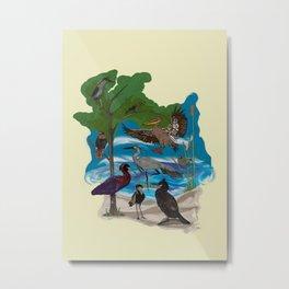 Some Birds Metal Print