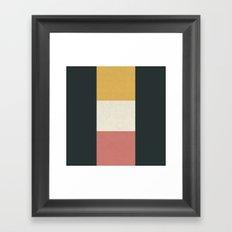3 Stages Framed Art Print