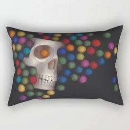 Skull and felt 2 Rectangular Pillow