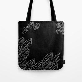 Leaves Stream Tote Bag