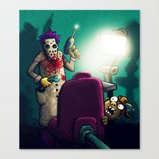 Dentist Canvas Print