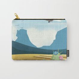 Mexico Desert vintage style travel Carry-All Pouch