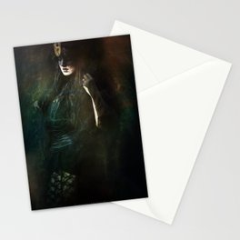 The dark witch Stationery Cards