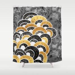 Goldie Luxe Shower Curtain