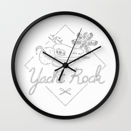 Yacht Rock Wall Clock