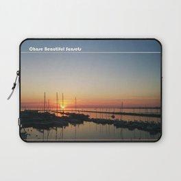 Chase Sunsets Laptop Sleeve
