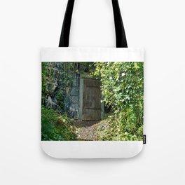 Hidden Doorway in Saumur, France Tote Bag
