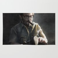 marc Area & Throw Rugs featuring Marc Maron by Pavel Sokov